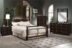 Hillsdale Furniture Banyan 5-Piece Bedroom Set w/ Queen Bed