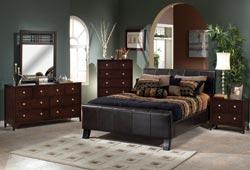 Hillsdale Furniture Brookland 4-Piece Bedroom Set w/ King Bed