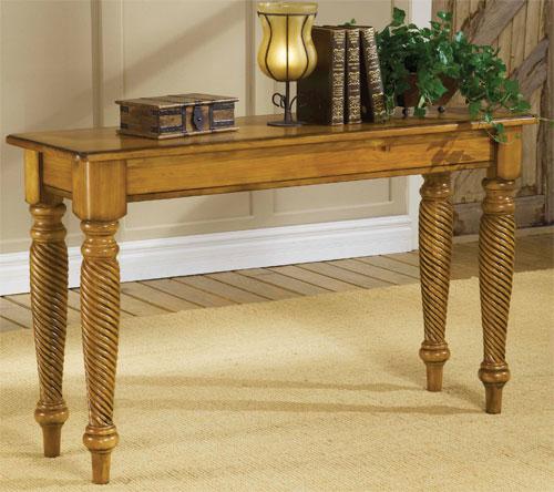 Hillsdale Wilshire Sofa Table, Antique White