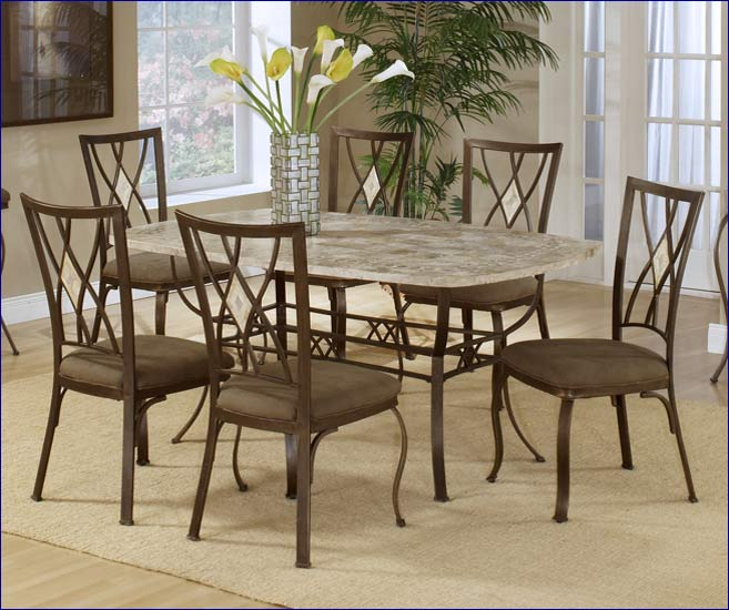 Hillsdale Diamond Fossil Back Dining Chair Set, 2 Chairs