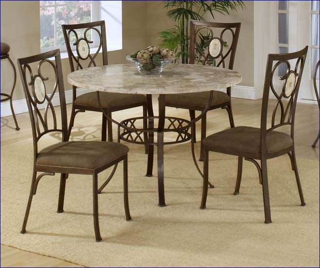 Hillsdale Oval Fossil Back Dining Chair Set, 2 Chairs