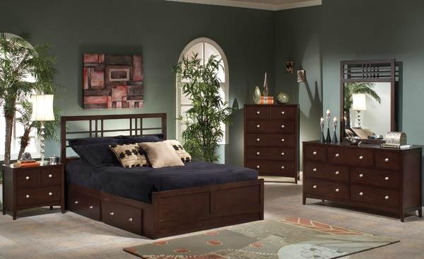 Hillsdale Furniture Tiburon Kona Storage 5-Piece Bedroom Set, Queen