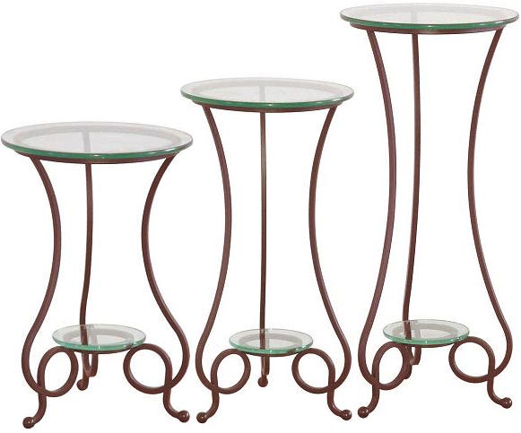Serra Designs Small Island Pedestal Table 16 inchD x 24 inchH
