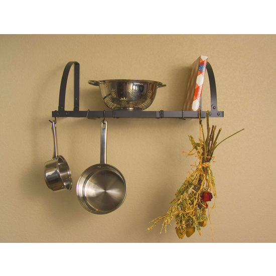 Advantage Components Expandable Wall Mount Pot Rack