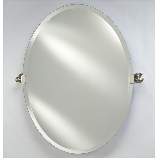 Afina Frameless Radiance Oval Mirror