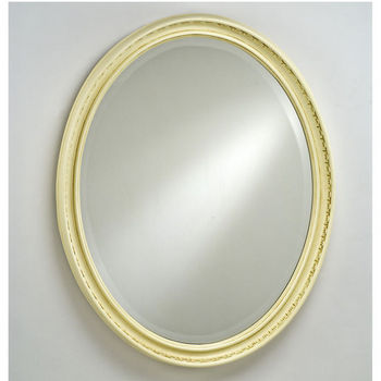Afina Oval Timeless Traditional Wall Mirror