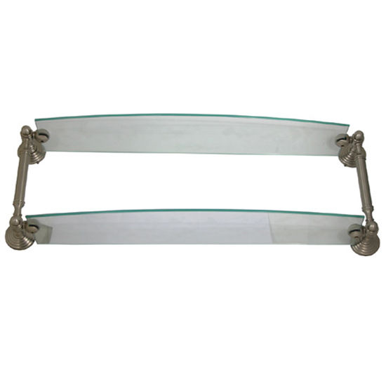 Double glass shelf- Waverly Place by Allied Brass