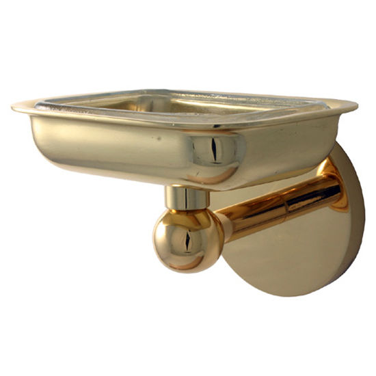 Skyline Soap Dish w/ Liner by Allied Brass