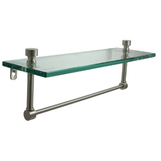Allied Brass Foxtrot Collection 16'' W - 22'' W Shelf with Towel Bar