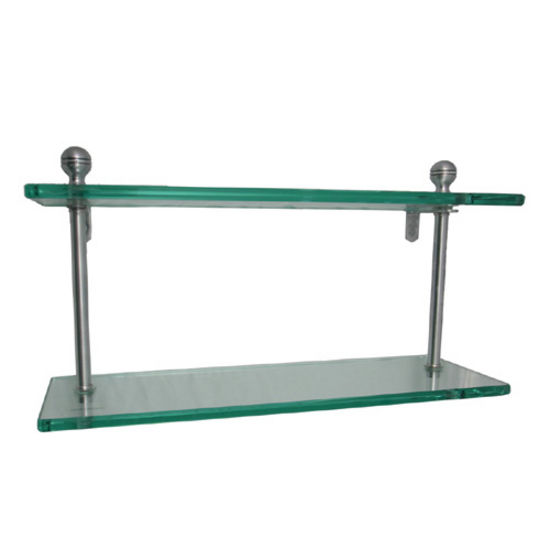 Mambo Collection Double Glass Shelves
