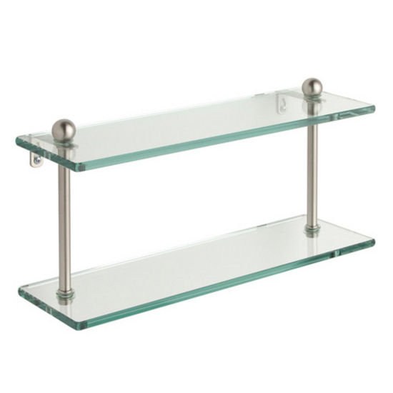 Prestige Regal Double Glass Shelves