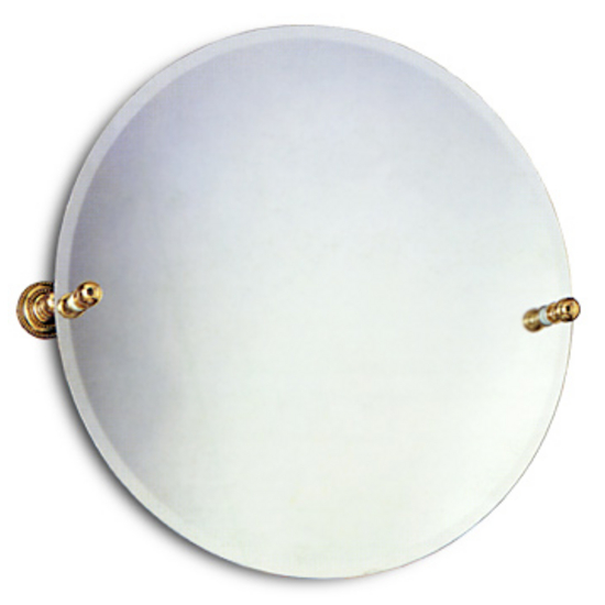 Allied Brass Round Tilt Mirror- Dottingham