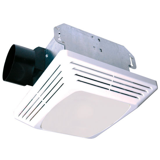 Air King 50 CFM combination exhaust fan with standard light