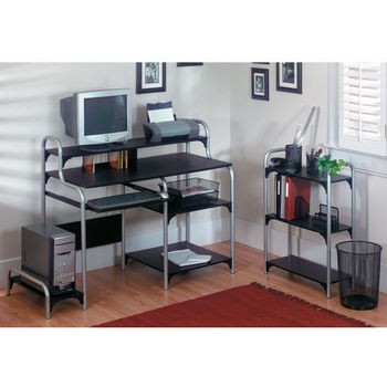 Altra Furniture Computer Desk with Bookcase