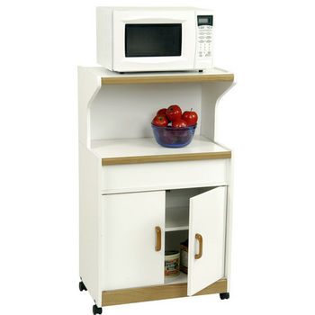Ameriwood Microwave Workcenter Cart
