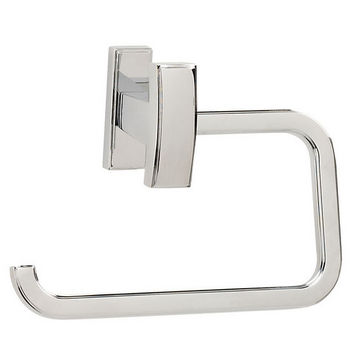 Alno Arch Series Single Post Bath Tissue Holder, Polished Chrome