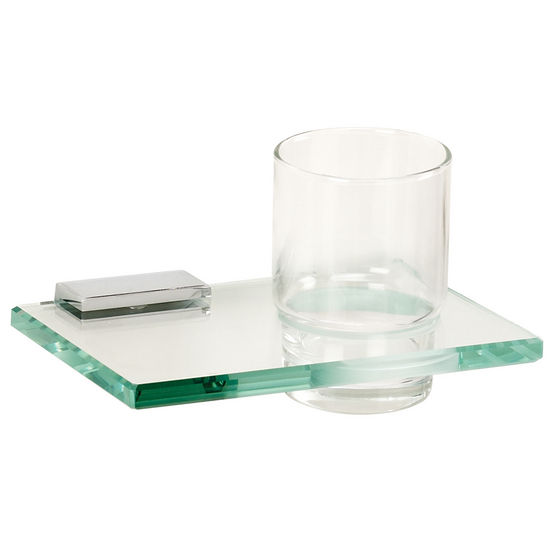 Arch Series Tumbler Holder w/ Glass Tumbler by Alno