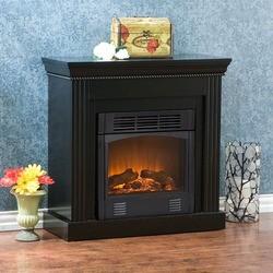 Southern Enterprises - Walden Electric Fireplace, 29 1/2 W x 12 D x 29 H, Black