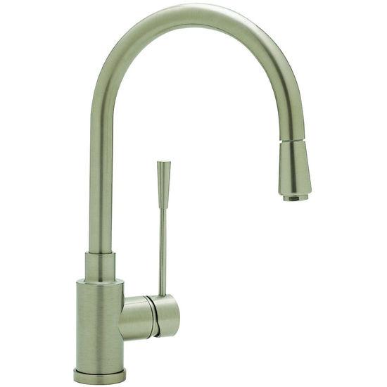 Blanco Kontrole Kitchen Faucet w/metal pull-down spray, Stainless ...