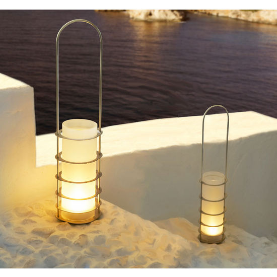 Lantern with Frosted Glass by Blomus