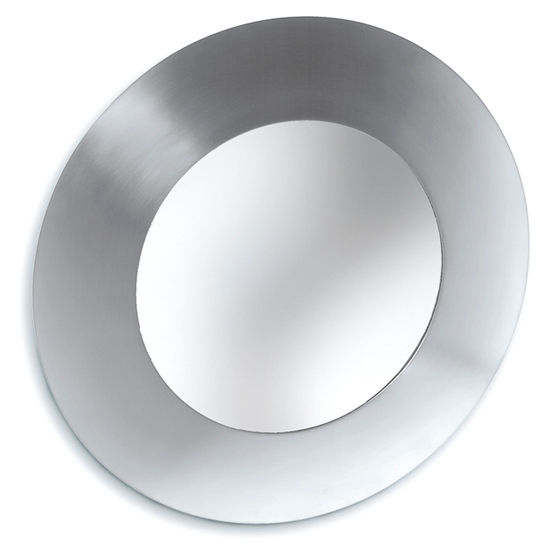 Bathroom Mirrors - Stainless Steel Round Mirrors By Blomus ...