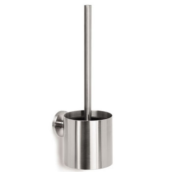 Blomus Primo Brushed Stainless Steel Wall-mounted Toilet Brush