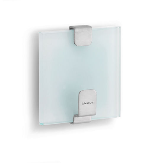 Single Towel Hook w/ Glass by Blomus