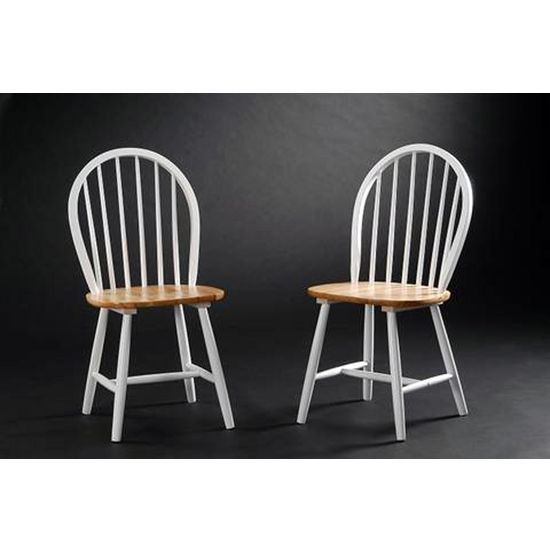 Boraam Industries Pair of Farmhouse Dining Chairs