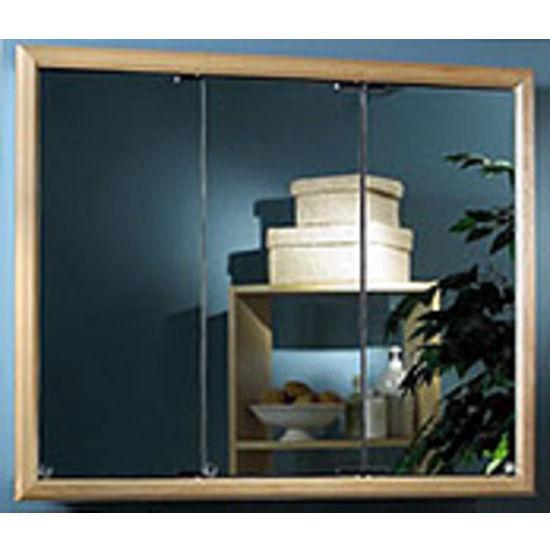 Bathroom medicine cabinets the largest selection of high for Wood frame medicine cabinet