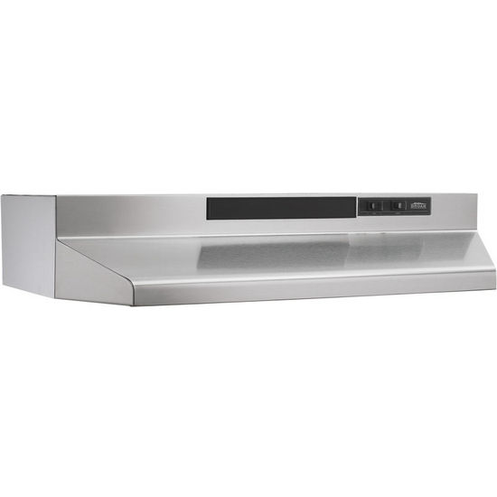 broan economy 43000 series under cabinet mount range hood ebay. Black Bedroom Furniture Sets. Home Design Ideas