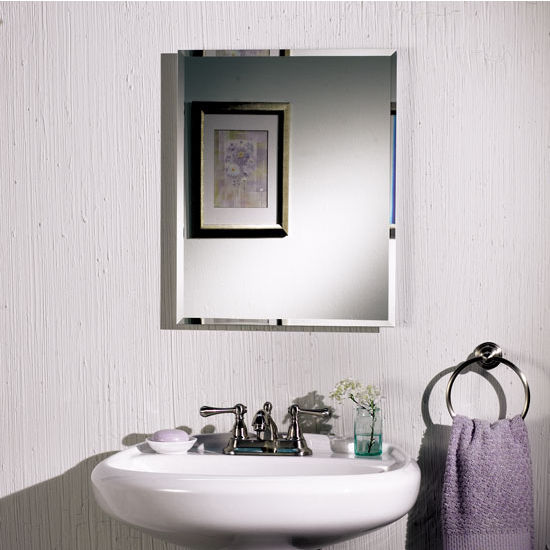 Broan Horizon Tri-view Frameless Bathroom Cabinet with Lights