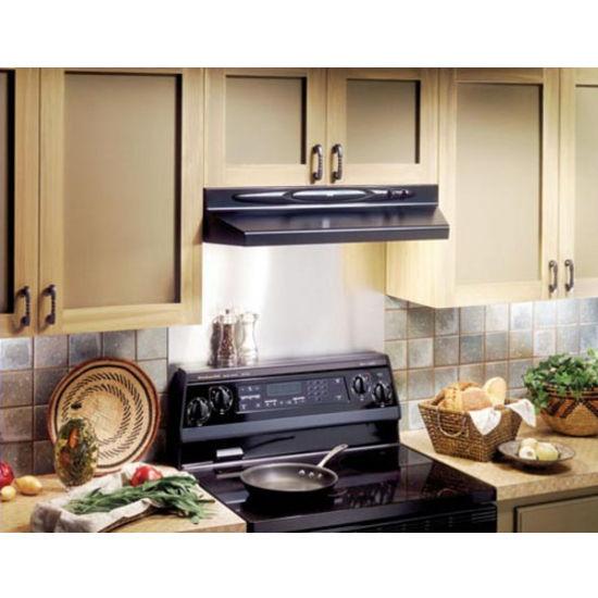 broan quiet series under cabinet mount range hood ebay. Black Bedroom Furniture Sets. Home Design Ideas