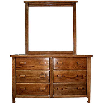 Bradley Brand Furniture - Homestead Dresser & Mirror