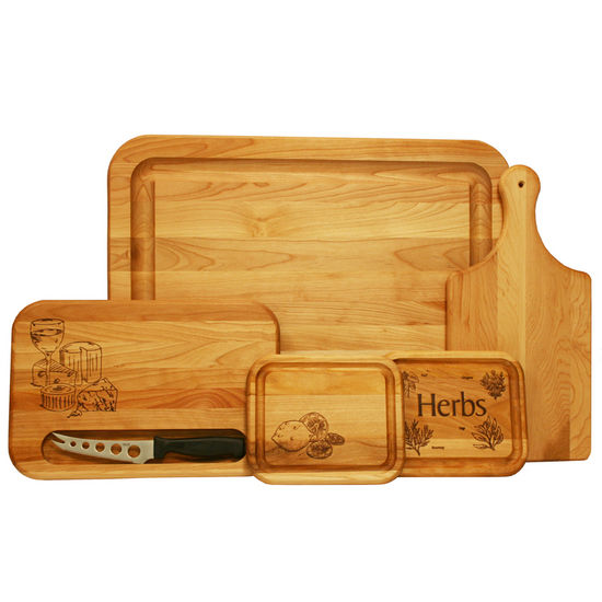 Catskill's Entertainment Cutting Board Gift Set