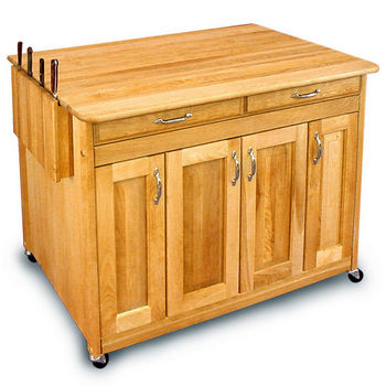 Catskill Kitchen Island Carts - Super Island PLUS