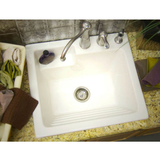 CorStone Westerly Self-Rim Laundry Sink