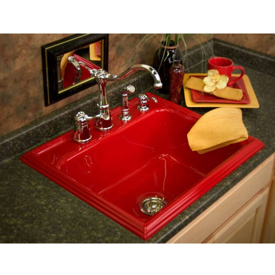 CorStone Shannock Self-Rim Single Bowl Kitchen Sink