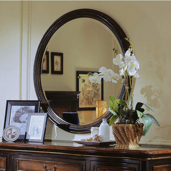 "Cole & Co. Hudson Round Mirror, 38""W x 4""D x 38""H"