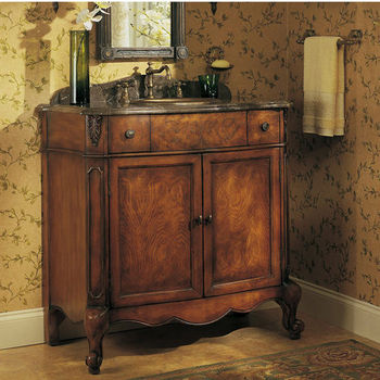 "Cole & Co. Bathroom In A Box Collection Windsor Chest, 36-1/2""W x 20-1/2""D x 36-1/2""H"