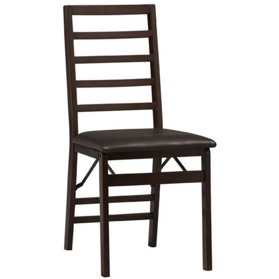 Triena Ladder Back Folding Chair by Linon