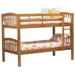 Covington - Mission Style Bunk Bed, 79 1/2 W x 42 D x 59 H, Pecan