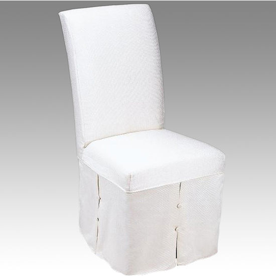 Skirted Parsons Dining Chairs Chair Pads Amp Cushions