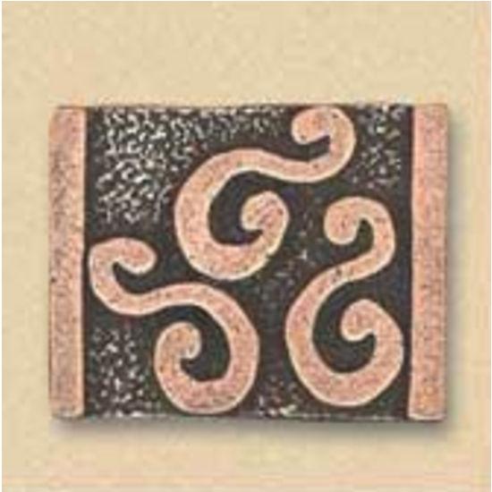 Dalka S Symbol Knob, Antique Brass