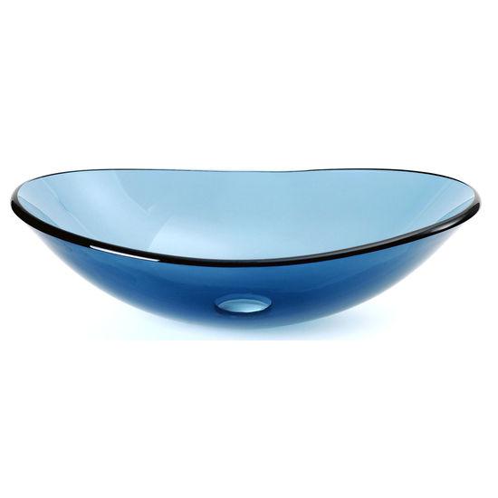 Glass oval