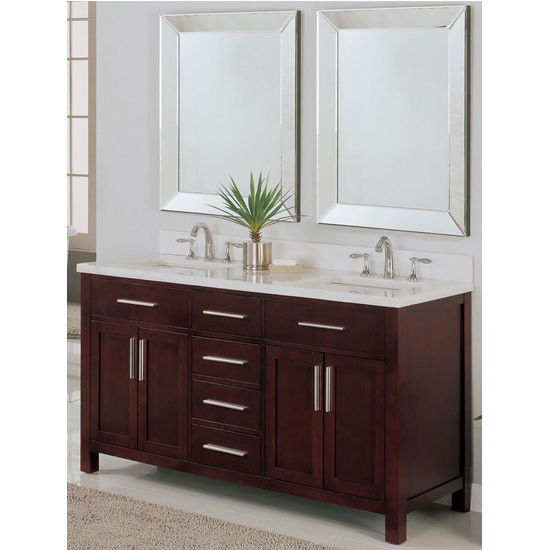 60-inch Monaco Collection Vanity