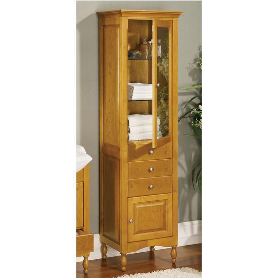 Empire Windsor Curio Cabinet, Antique White