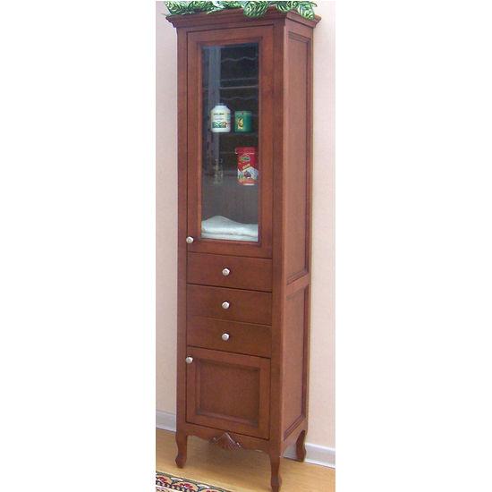Empire Kensington Curio Cabinet, Cinnamon