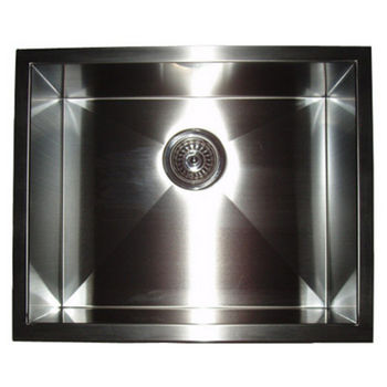 "Empire Everest Single Bowl Undermount Sink 22"" W"
