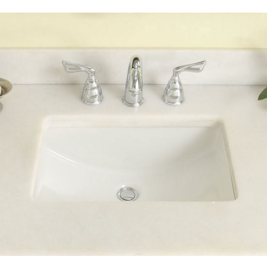 Kitchen sinks rectangular undermount kitchen sink made - Undermount ceramic kitchen sink ...