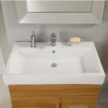 Milano Ceramic Sink In White